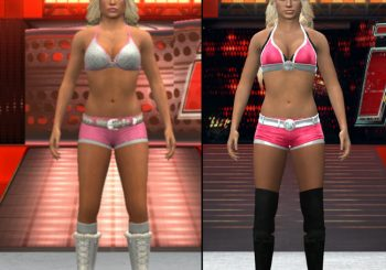 Smackdown vs. Raw 2011 And WWE '12 Character Model Changes