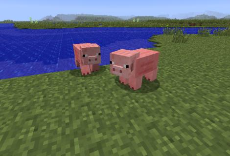 Animals Run Scared In Minecraft Beta 1.8