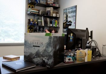 Skyrim's Collector Edition is BIG! Uh... Big Big...
