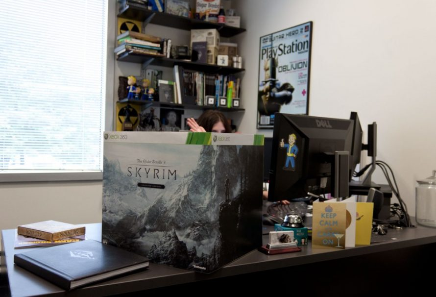 Skyrim's Collector Edition is BIG! Uh… Big Big…