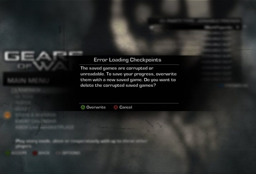 Gears of War 3 Gets Day One Patch, Corrupts Game Saves