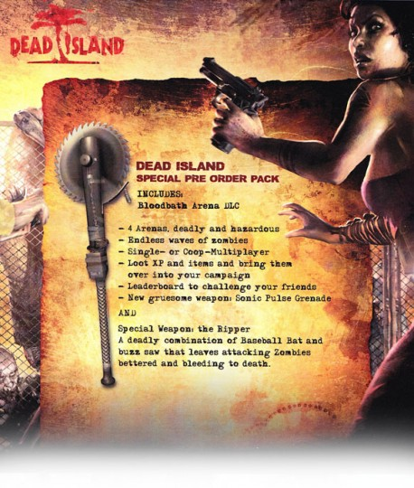 Dead Island Bloodbath Arena Trophies Revealed