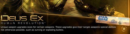 Star Wars advertisement in the PC version of Deus Ex
