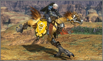 Chocobos & Airships are back in Final Fantasy XIV