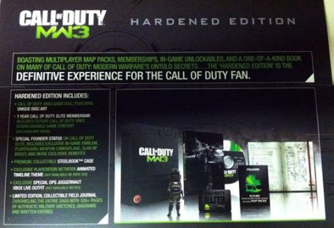 Modern Warfare 3's Hardened Edition Gets a Price