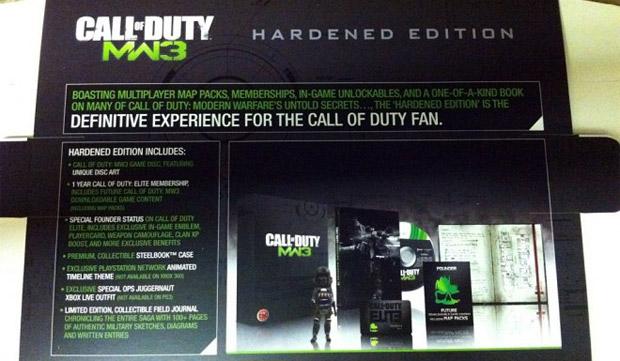 Modern Warfare 3's Hardened Edition Gets a Price