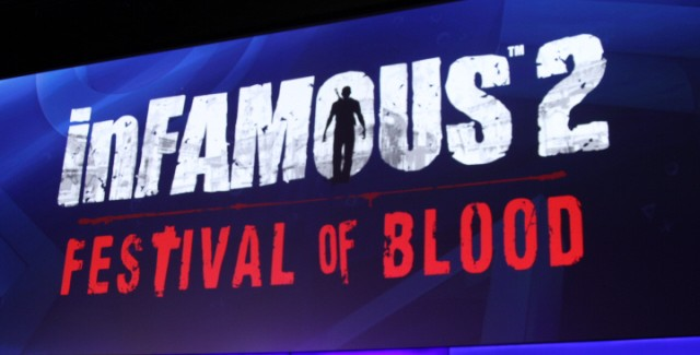 inFamous: Festival of Blood is a Stand Alone Title, PlayStation Move Compatible