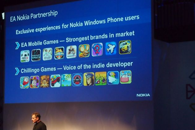 Nokia Windows 7 Phones to get Exclusive EA Titles