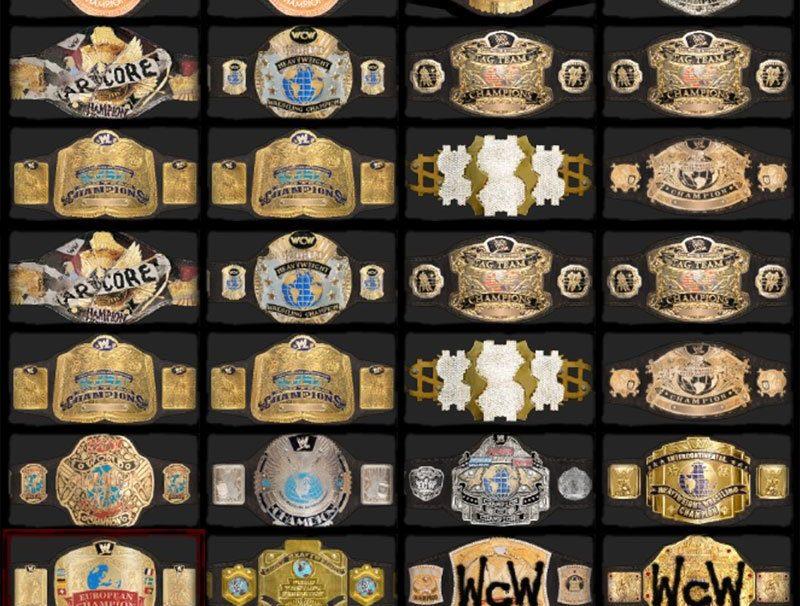 WWE '12 Championship Belts Revealed