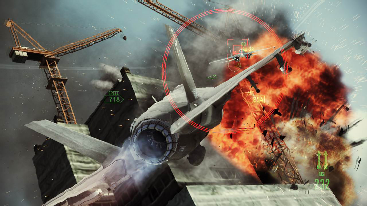 Ace Combat: Assault Horizon Demo Surpassses 1 2M Demo