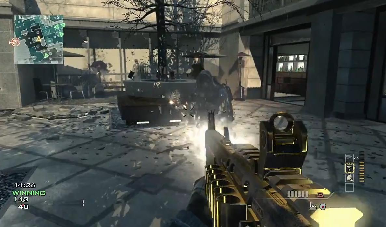 First Modern Warfare 3 Golden Gun Gameplay Just Push Start