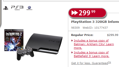 [Update] Playstation 3 Bundle Gets An Amazing Deal