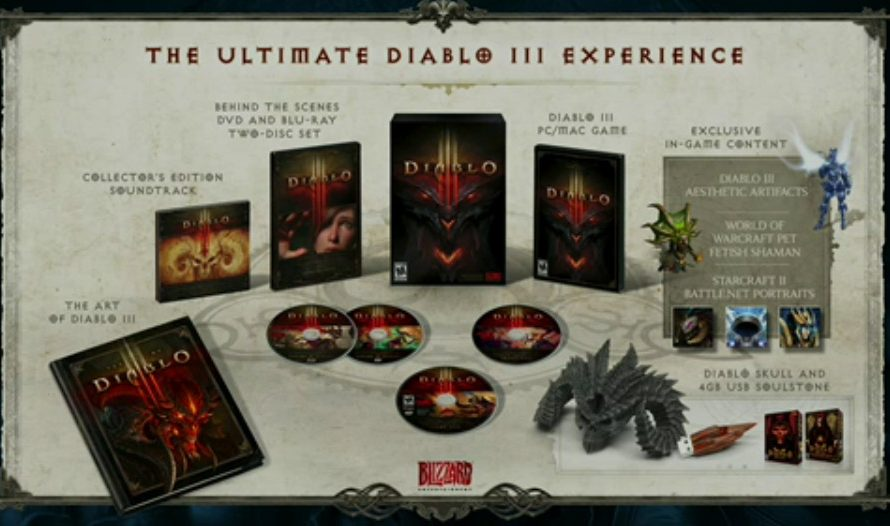 Diablo III Gets a Collector's Edition, Details Revealed