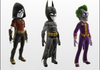 Arkham City Avatar Items Now Available On Xbox Live