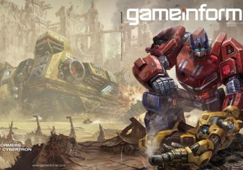 Transformers: Fall of Cybertron Getting Game Informer Reveal