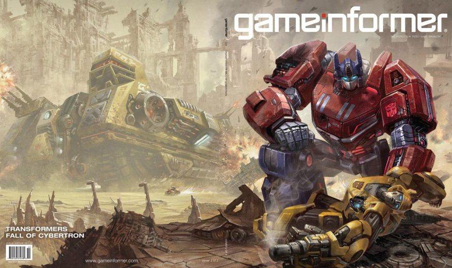 transformers fall of cybertron getting game informer reveal just