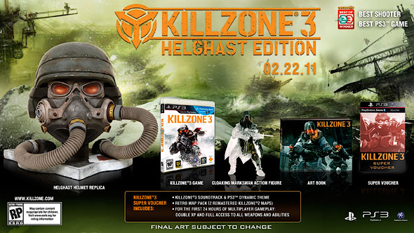 Buy The Killzone 3 Helghast Edition For $25