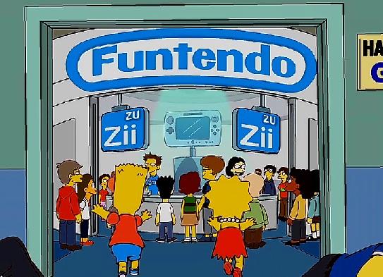 The Simpsons Will Parody Nintendo's Wii U