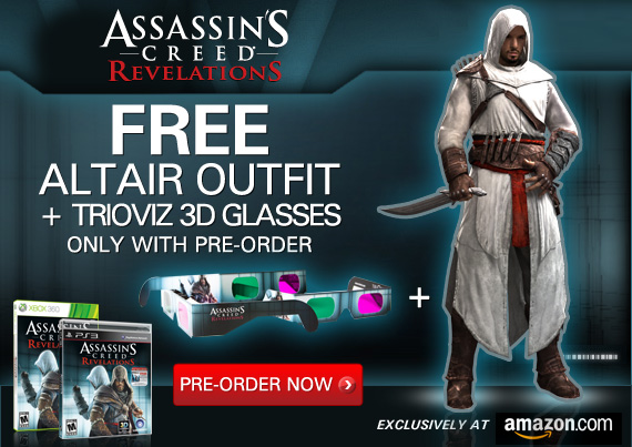Amazon Reveals New Ac Revelations Pre Order Bonus Just Push Start