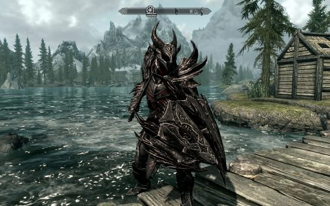 Skyrim - Constructing a Complete Daedric Armor / Weapon ...