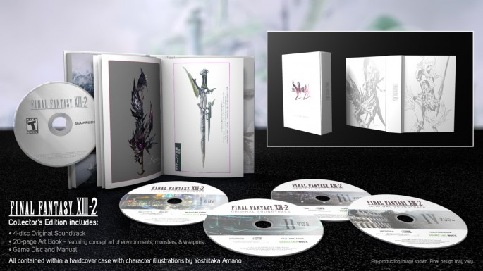 Final Fantasy XIII-2 Collector's Edition Coming to North America