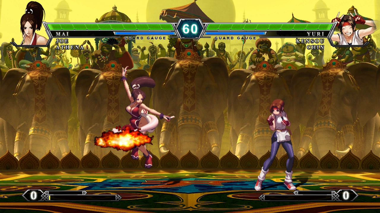 King Of Fighters Xiii Review Just Push Start