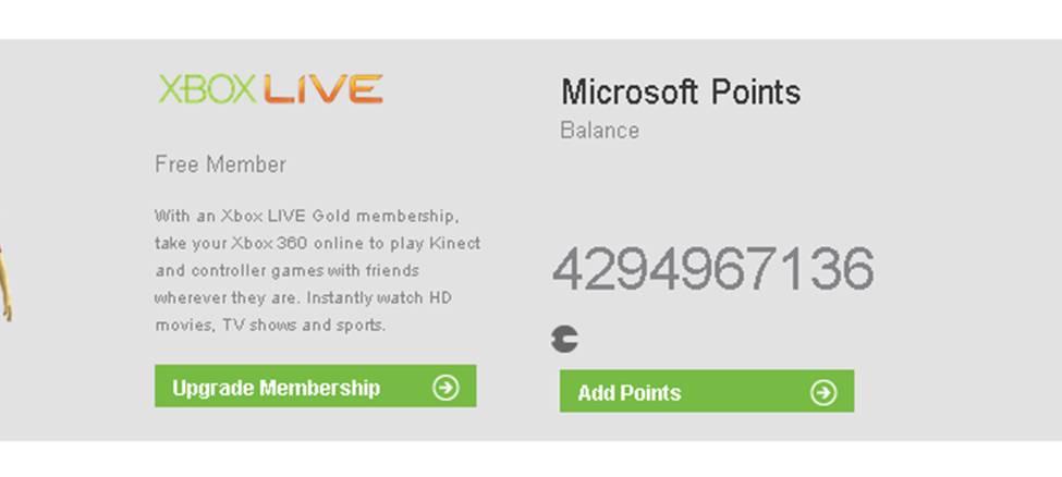 Xbox Live Rewards Member Gains Over 4 Billion Points - Just