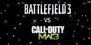 Battlefield 3 & Modern Warfare 3 Word Cloud Comparison