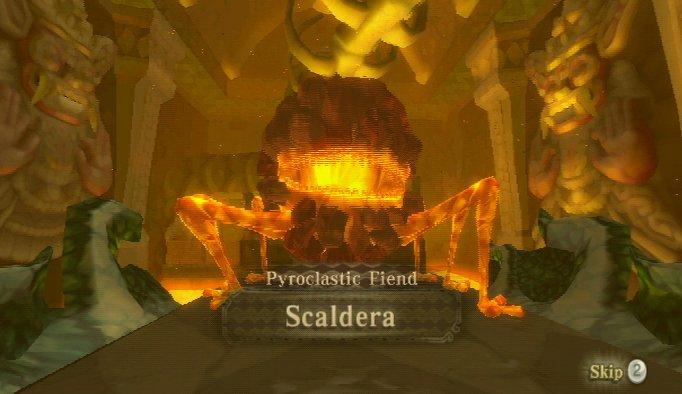 Skyward Sword – Pyroclastic Fiend Scaldera Boss Guide