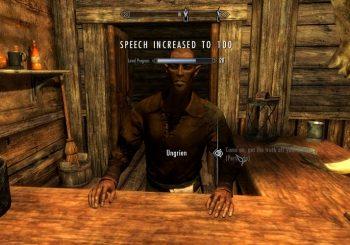 Skyrim Glitch: Get 100 Speech