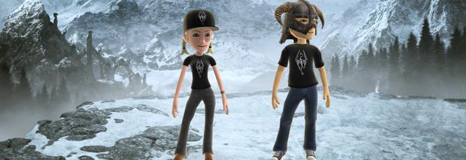 Skyrim Gets New Avatar Items on Xbox Live