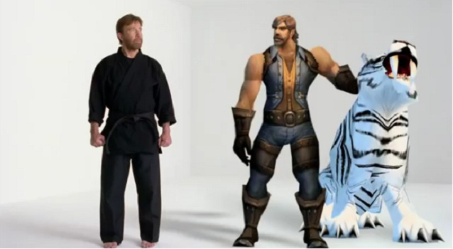 Chuck Norris Officially Approves World of Warcraft