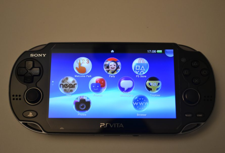 PlayStation Vita Unboxing High Quality Pictures