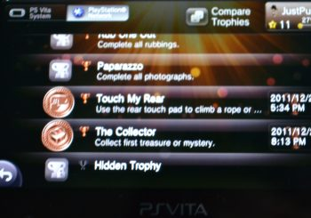 Uncharted: Golden Abyss Trophies Offers a Challenge to Fans