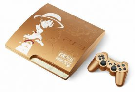 Japan Gets Limited Edition Gold One Piece Themed PS3
