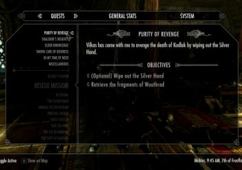 Skyrim Sidequest - Purity of Revenge