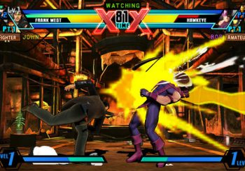Ultimate Marvel vs. Capcom 3 PS Vita Touch Screen Controls