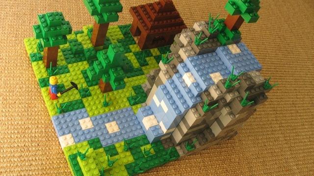 Mojang intent on LEGO Minecraft set