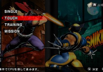 Ultimate Marvel vs. Capcom 3 PS Vita Screenshots