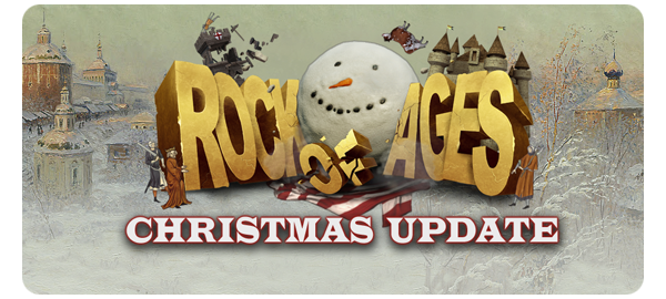 Rock of Ages for PC gets a Christmas Update