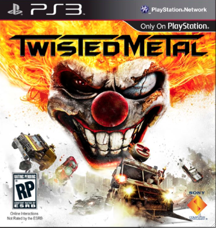 New Twisted Metal Boxart Released