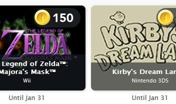 Club Nintendo Updates Game Offering, Majora's Mask Added