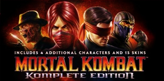 Mortal Kombat Komplete Edition Box-Art Unveiled