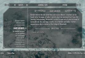 Skyrim Sidequest - Hard Answers