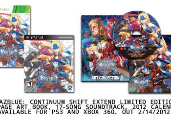 Aksys Games Announces BlazBlue: Continuum Shift EXTEND Collectors Edition