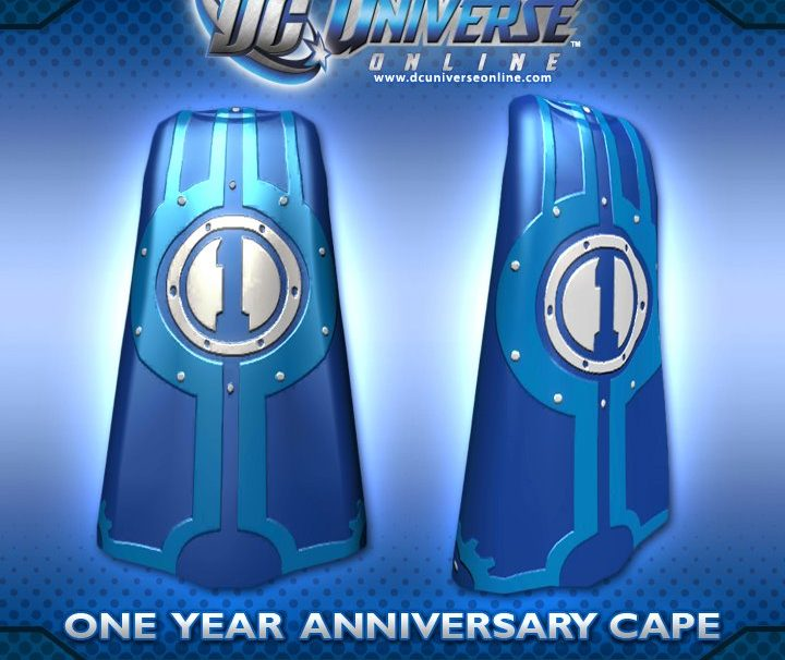 DC Universe Online 1st Anniversary Rewards Players With DLC