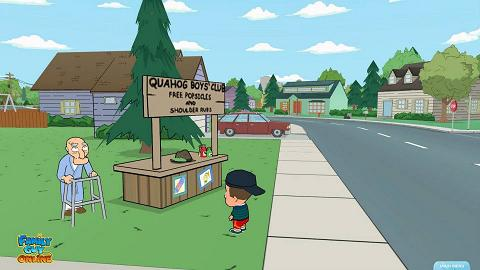 New Screenshots/Concept Art for Family Guy Online