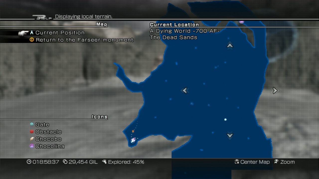 Final Fantasy 13 World Map.Final Fantasy Xiii 2 Acquiring The Gold Chocobo Just Push Start