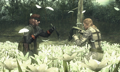 Metal Gear Solid: SNake Eater 3D Footage