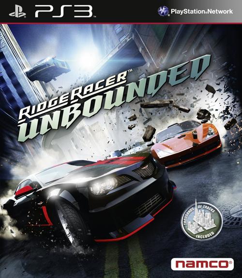 Ridge Racer Unbounded Box Art Released